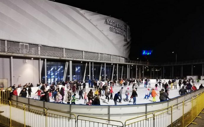 ice skating Debrecen