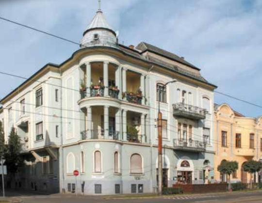 Palace of János Wolff - Debrecen