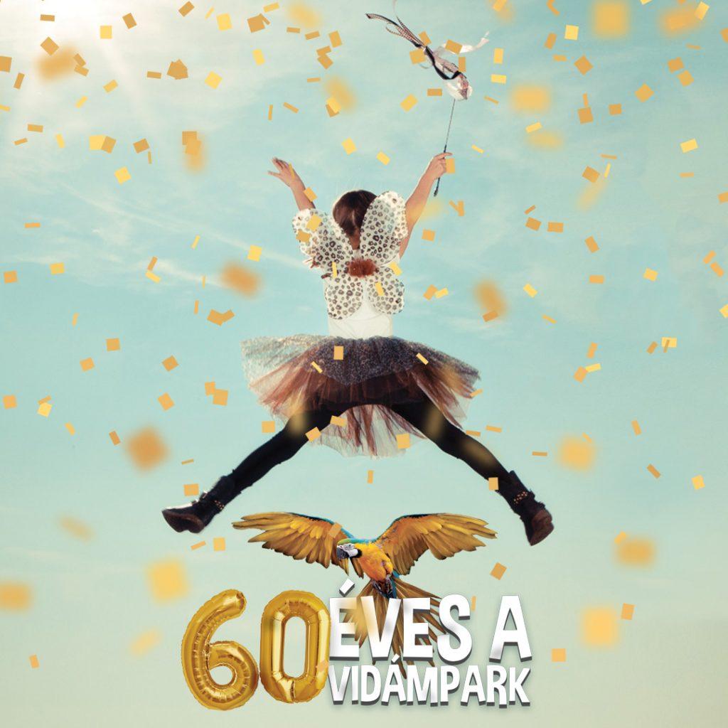 60 years Debrecen Amusement Park