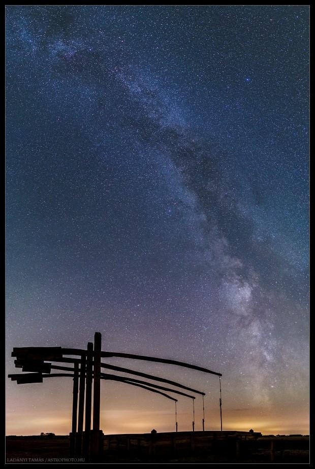 night sky hortobágy
